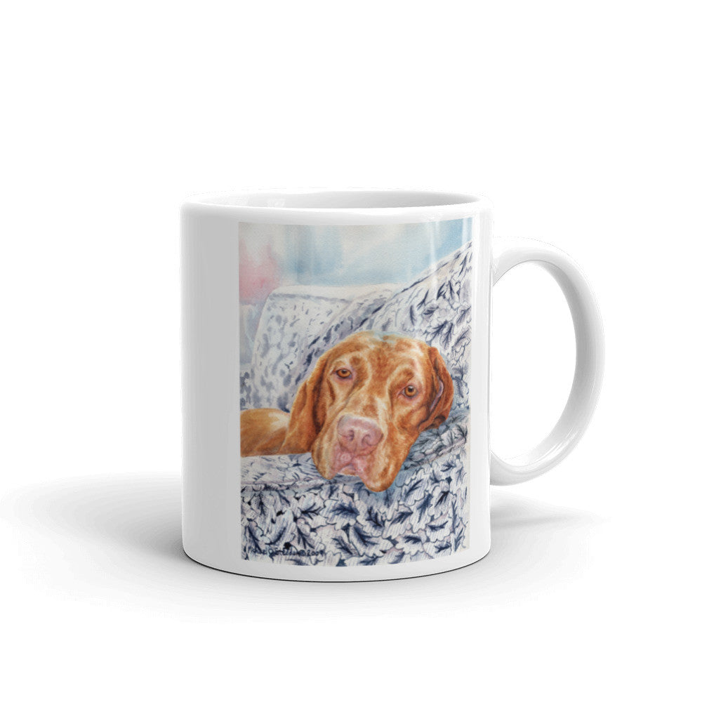 """Club Chair"" Vizsla 11oz Coffee Mug"