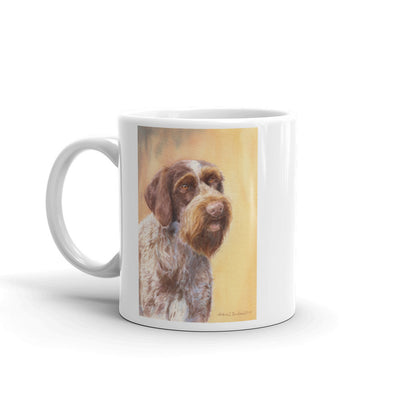 """GWP HSII"" German Wirehaired Pointer 11oz Coffee Mug"