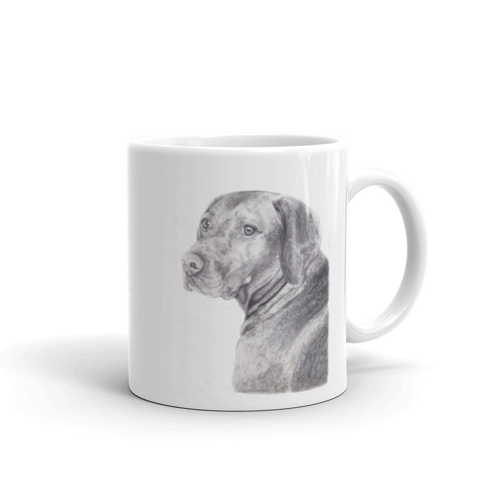 Vizsla Pencil 11oz Coffee Mug