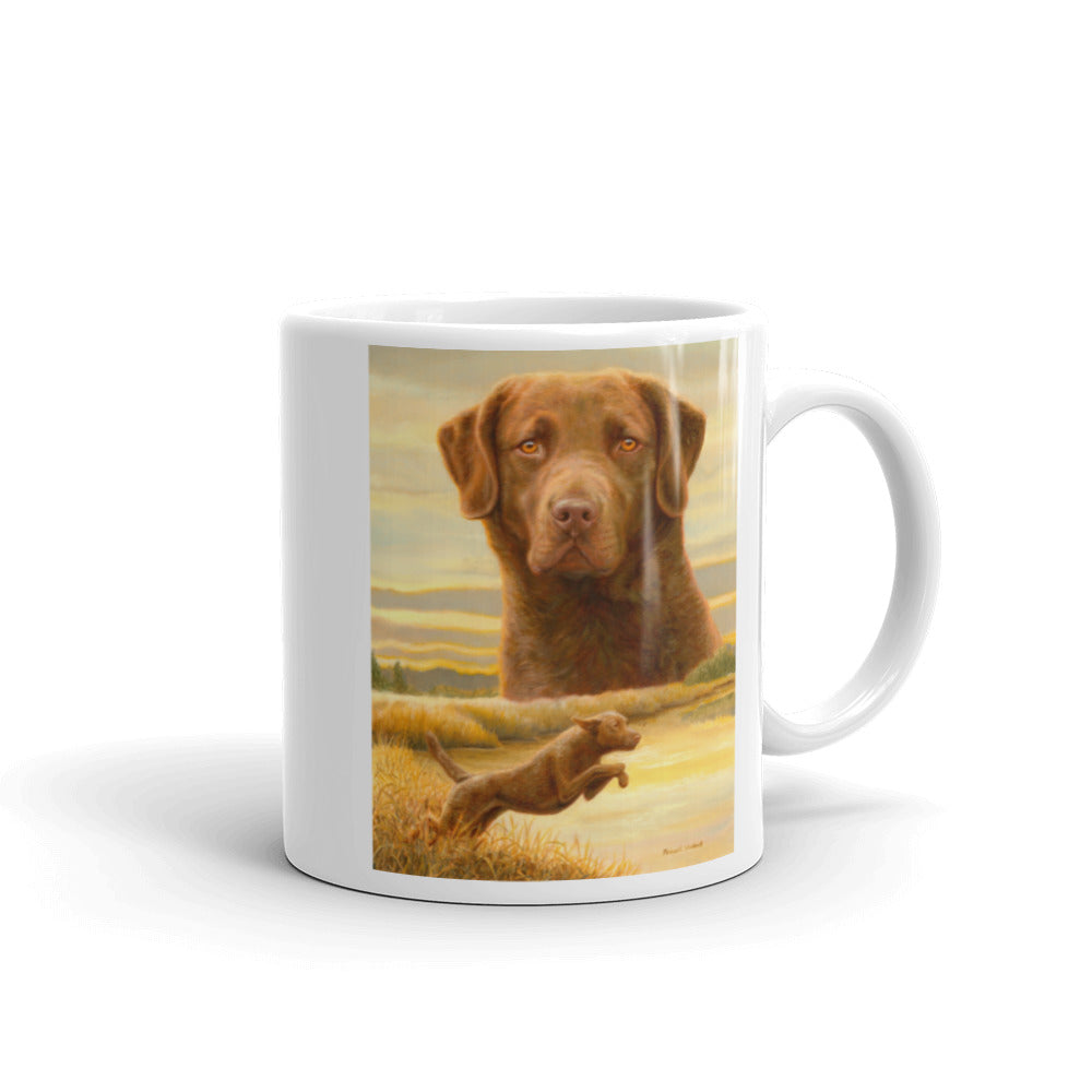 """Honor & Duty"" Chesapeake Bay Retriever 11oz Coffee Mug"