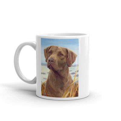 """Favored"" Chesapeake Bay Retriever 11oz Coffee Mug"