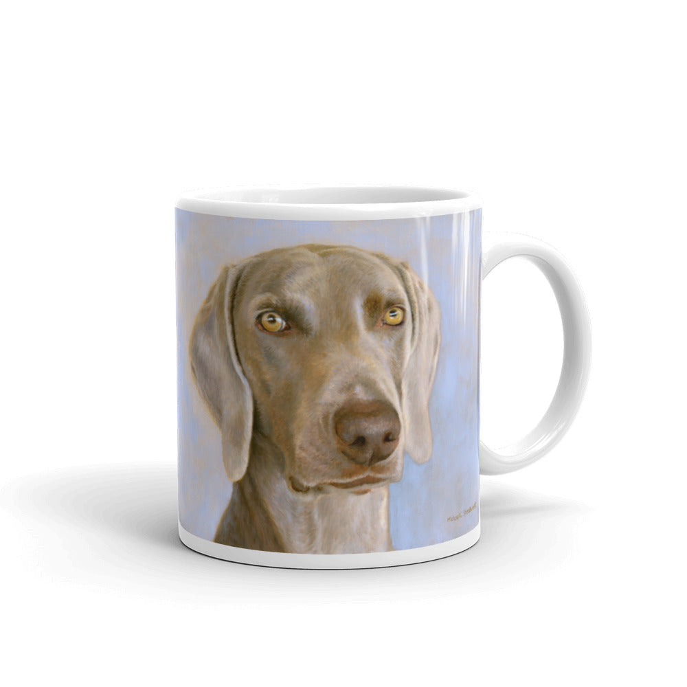 Weimaraner Head Study 11oz Coffee Mug