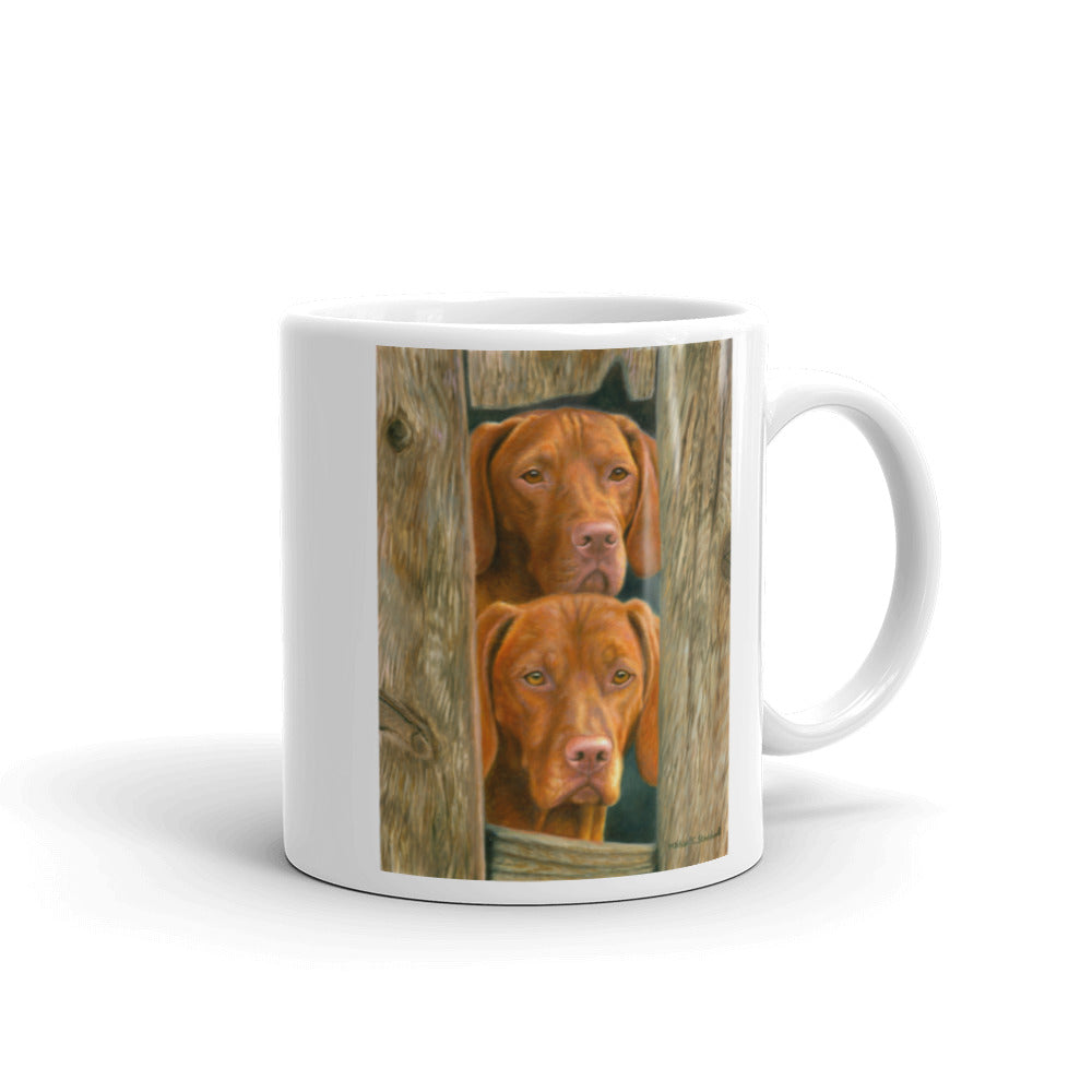On Duty, Vizsla 11oz Coffee Mug
