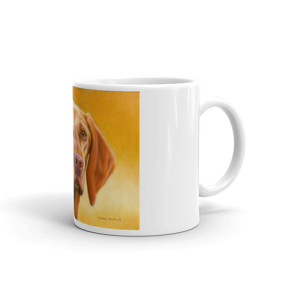 Vizsla Oil 11oz Coffee Mug