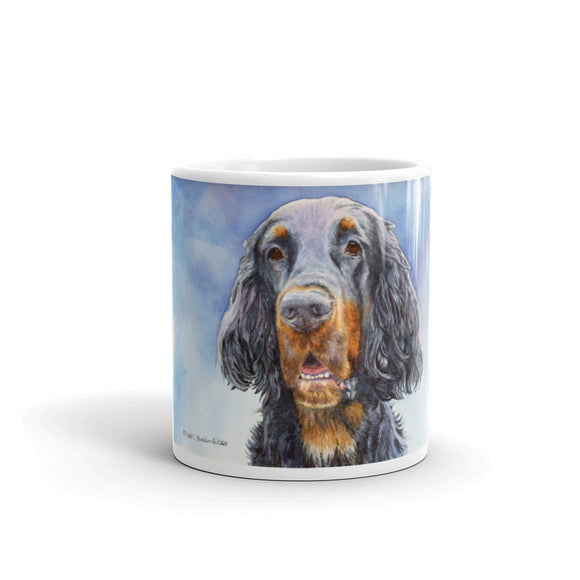 Gordon Setter HS Watercolor 11 oz Coffee Mug