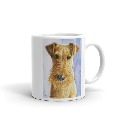 Irish Terrier Head Study III, 11oz Coffee Mug
