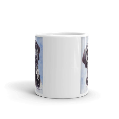 Dalmatian Head Study 11oz Coffee Mug