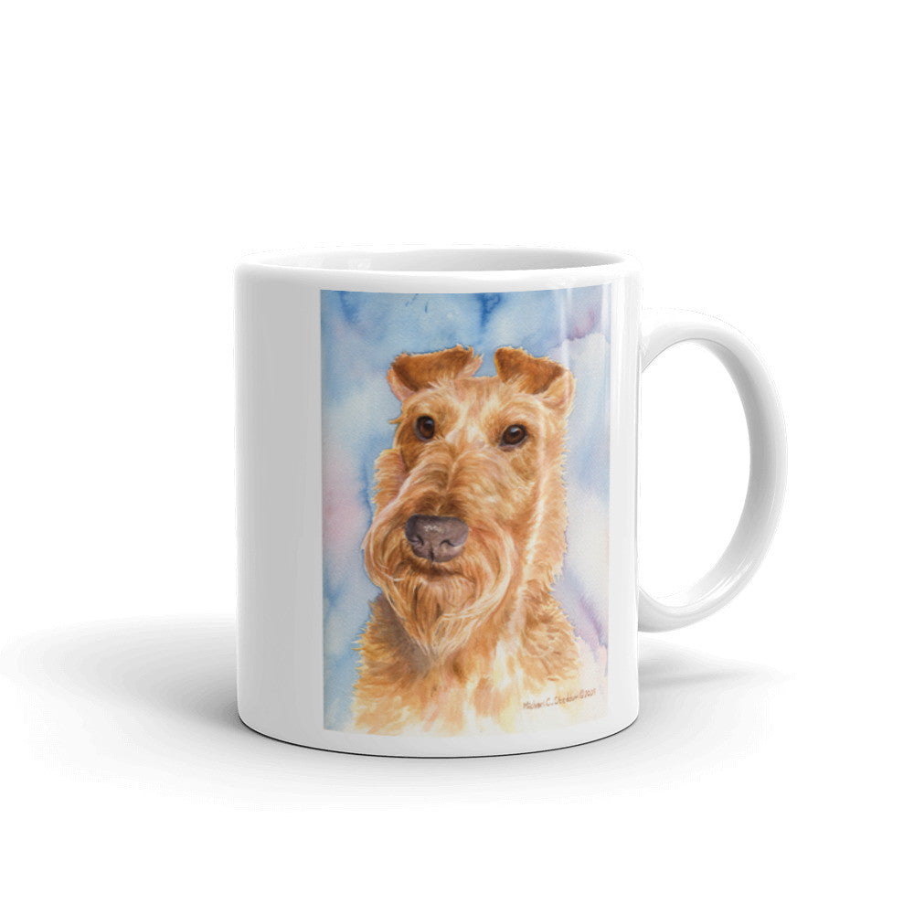 Irish Terrier Head Study V, 11oz Coffee Mug
