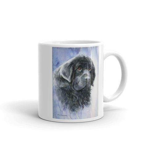 Newfoundland Head Study V, 11oz Coffee Mug