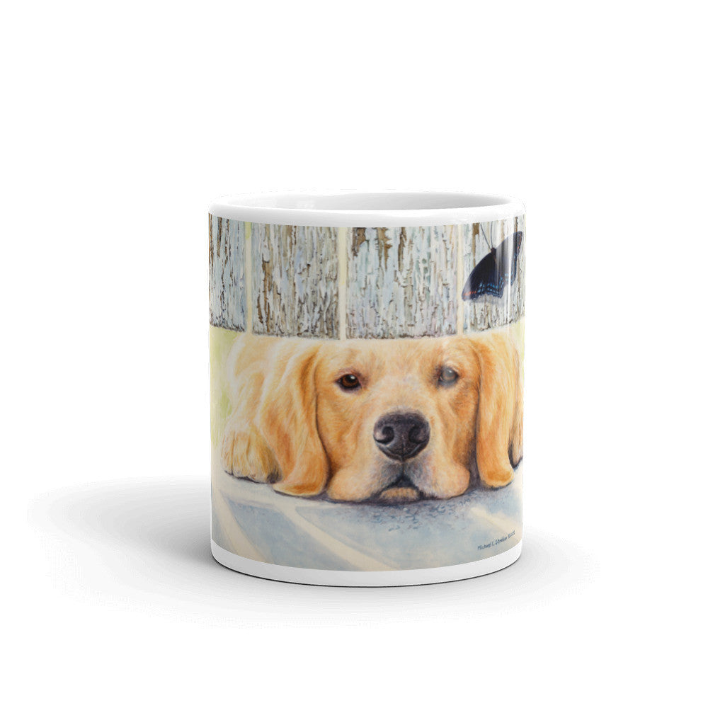 """Get It"" Golden Retriever 11oz Coffee Mug"