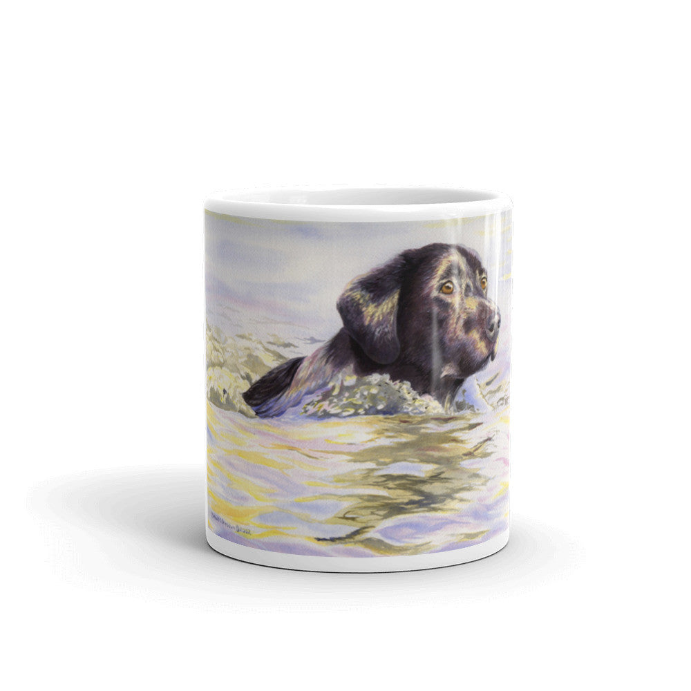 """Water Dog"" Labrador Retriever 11oz Coffee Mug"
