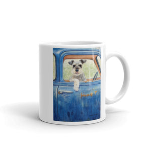 """Ride"" Schnauzer 11oz Coffee Mug"