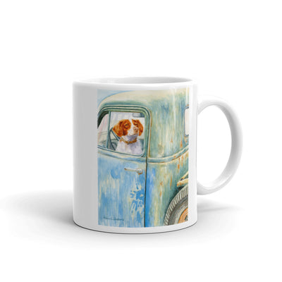 """Ready To Go"" Brittany 11oz Coffee Mug"
