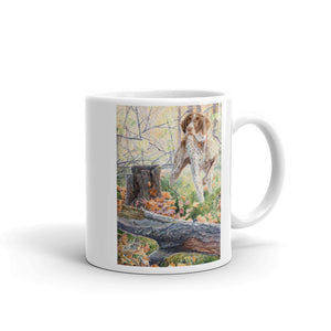 """The Detective"" German Shorthaired Pointer 11oz Coffee Mug"