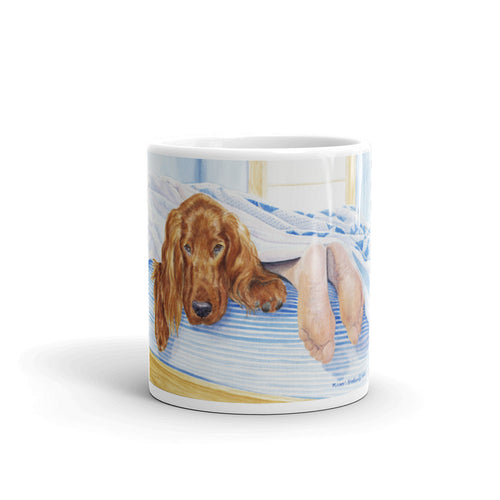 """My Other Feet"" Irish Setter 11oz Coffee Mug"
