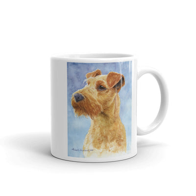 Irish Terrier Head Study IV, 11oz Coffee Mug
