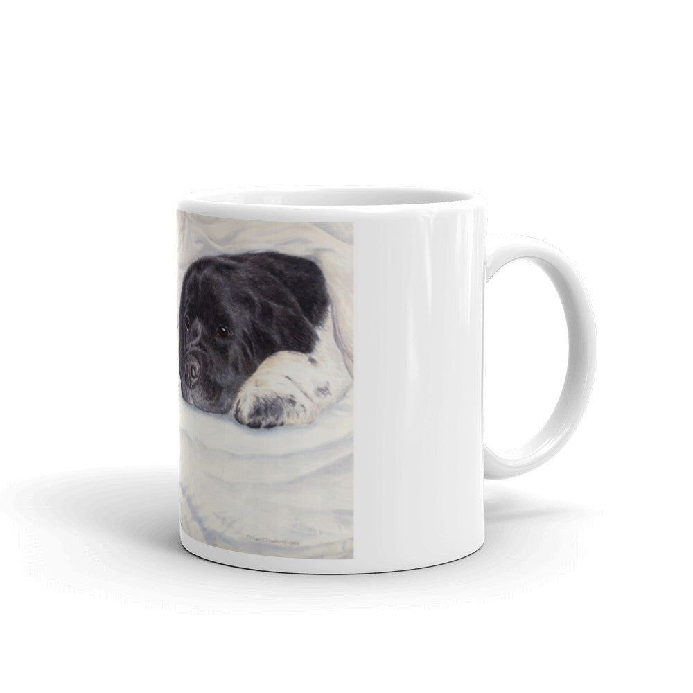 """Newfy Feet"" Newfoundland 11oz Coffee Mug"