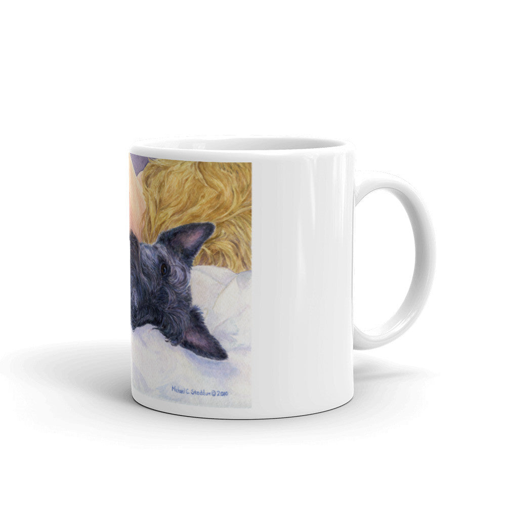 """Lucky Dog"" Scottish Terrier 11oz Coffee Mug"