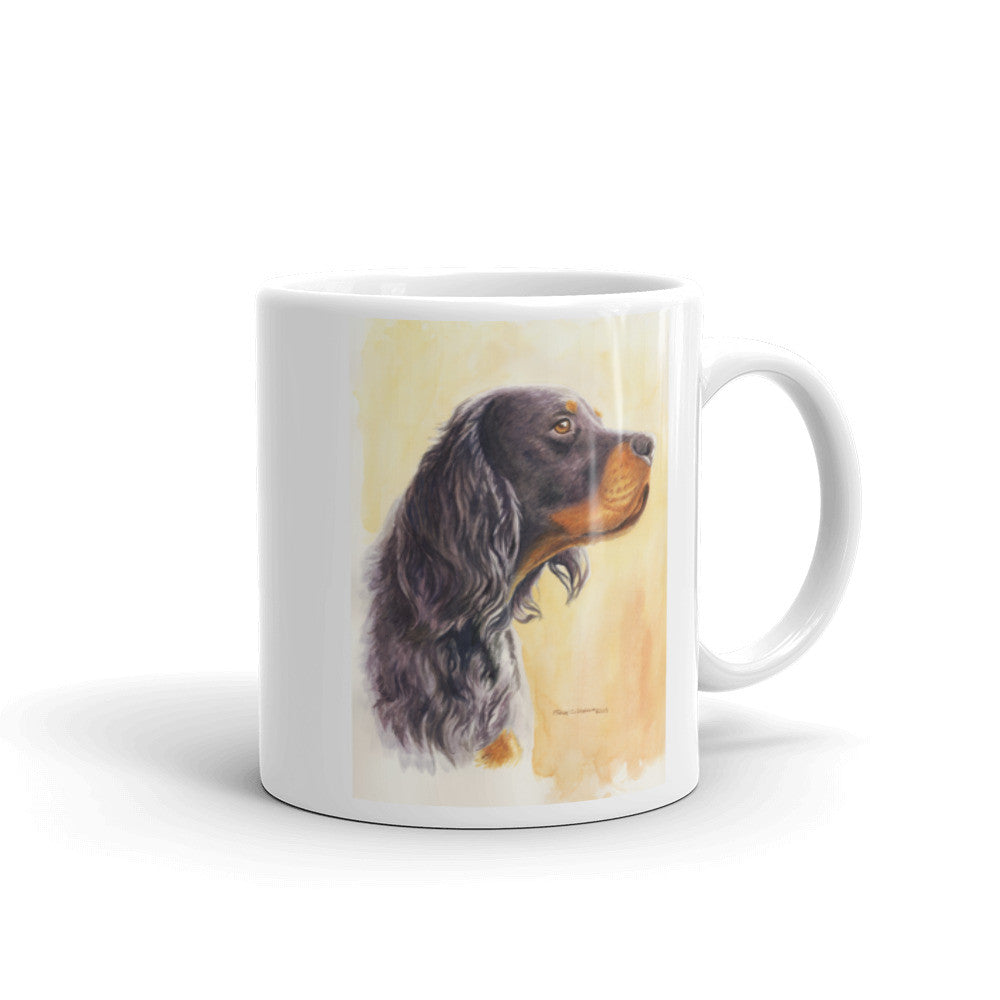 Gordon Setter Head Study 11oz Coffee Mug