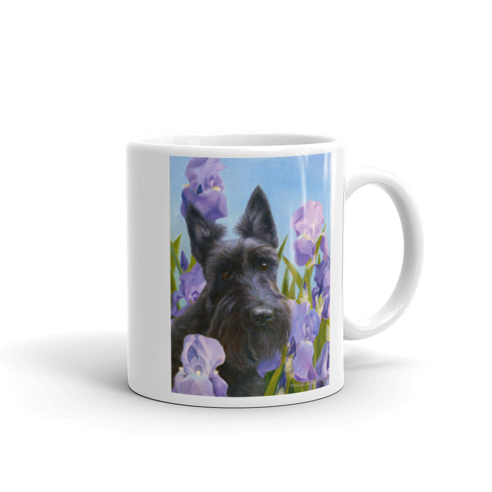 """Harmony"" Scottish Terrier 11oz Coffee Mug"