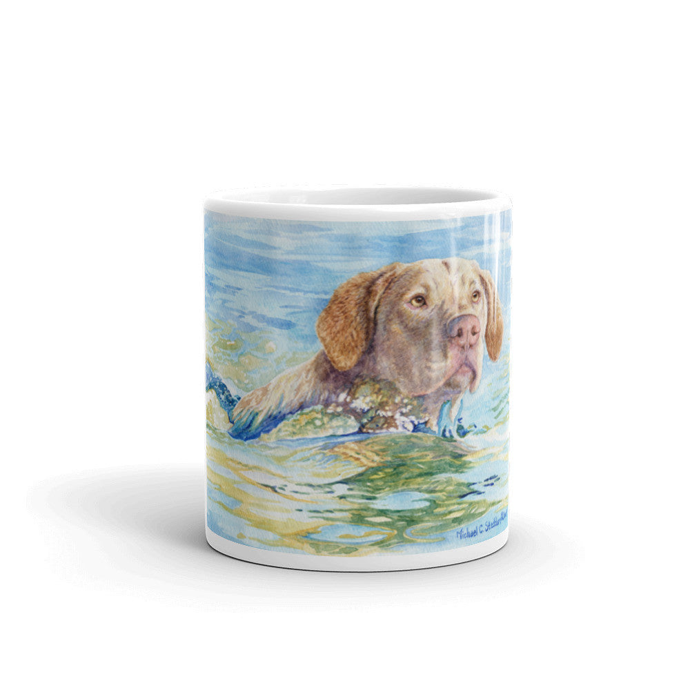 """Chesapeake Retrieve"" Chesapeake Bay Retriever 11oz Coffee Mug"