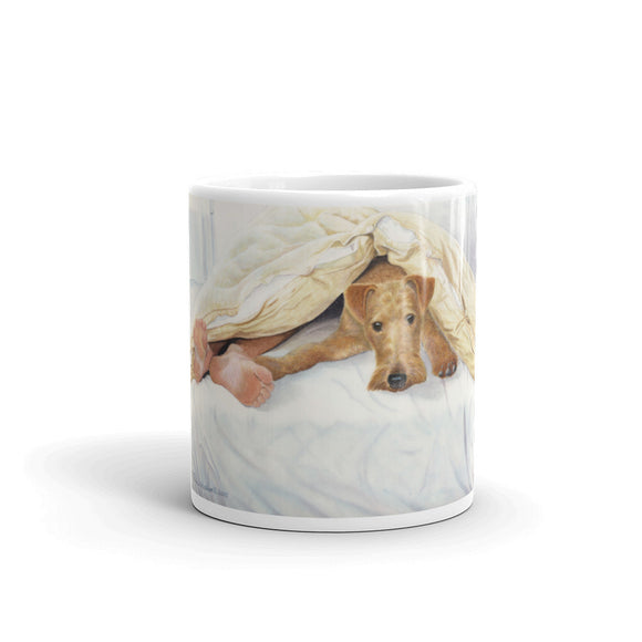 Irish Terrier Feet 11oz Coffee Mug