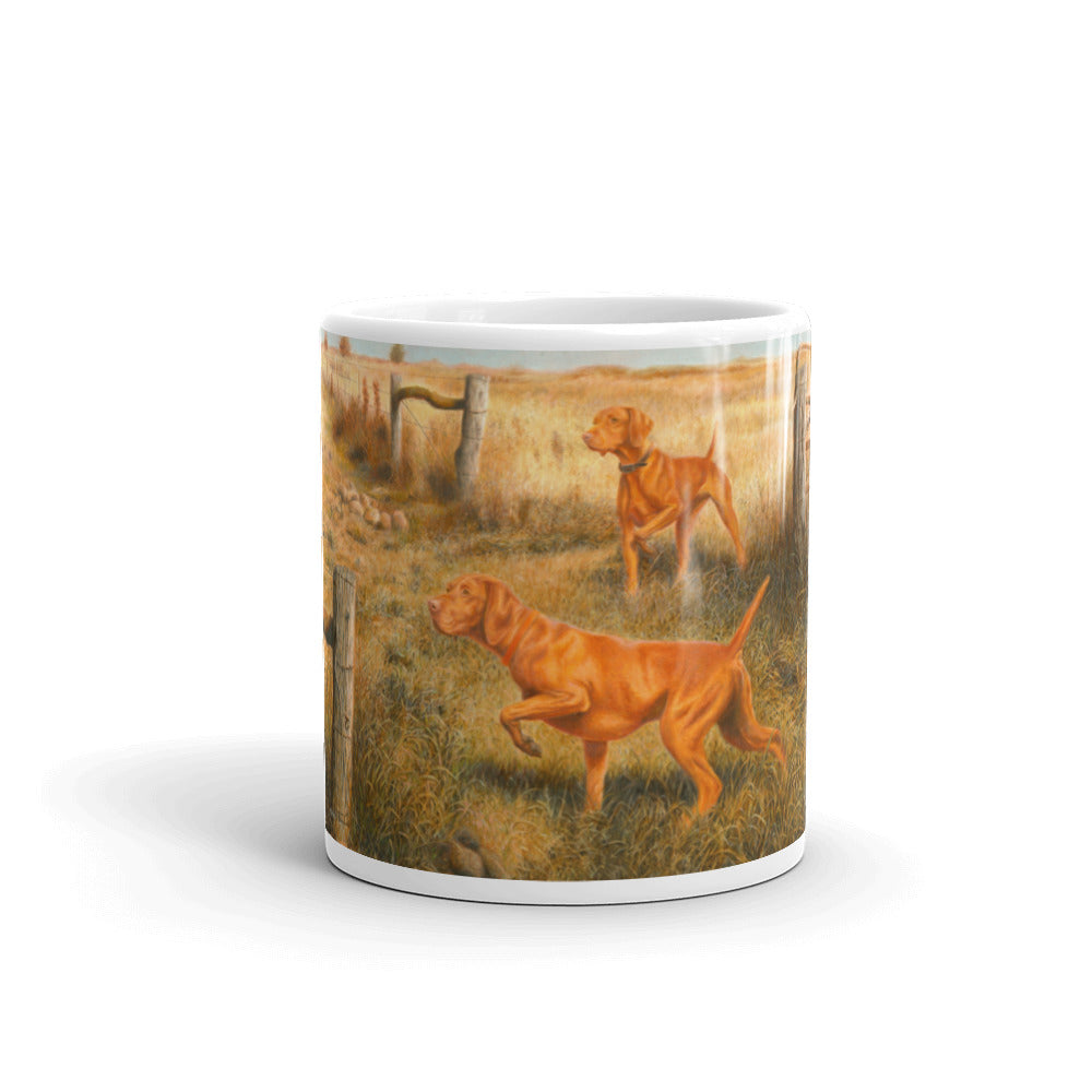 """Crossroads"" Vizsla 11oz Coffee Mug"