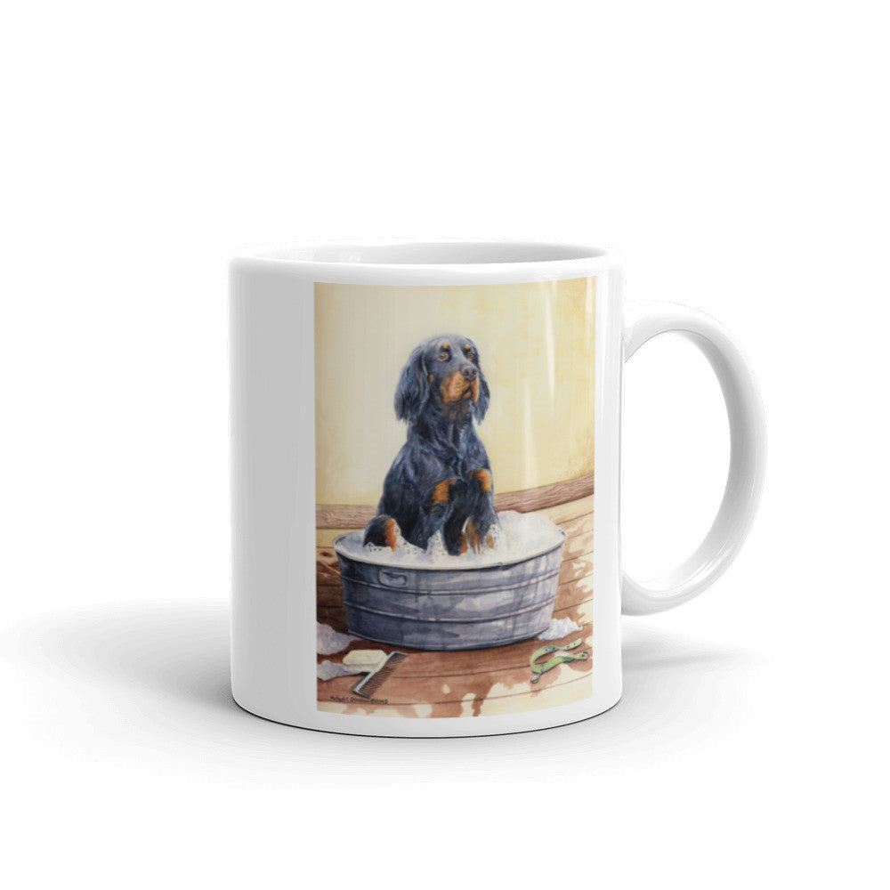 """Saturday Night"" Gordon Setter 11oz Coffee Mug"