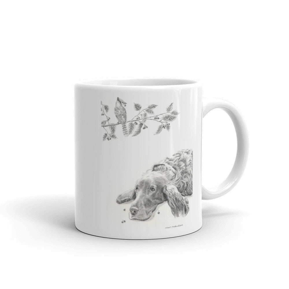 """Bird Droppings"" Irish Setter 11oz Coffee Mug"
