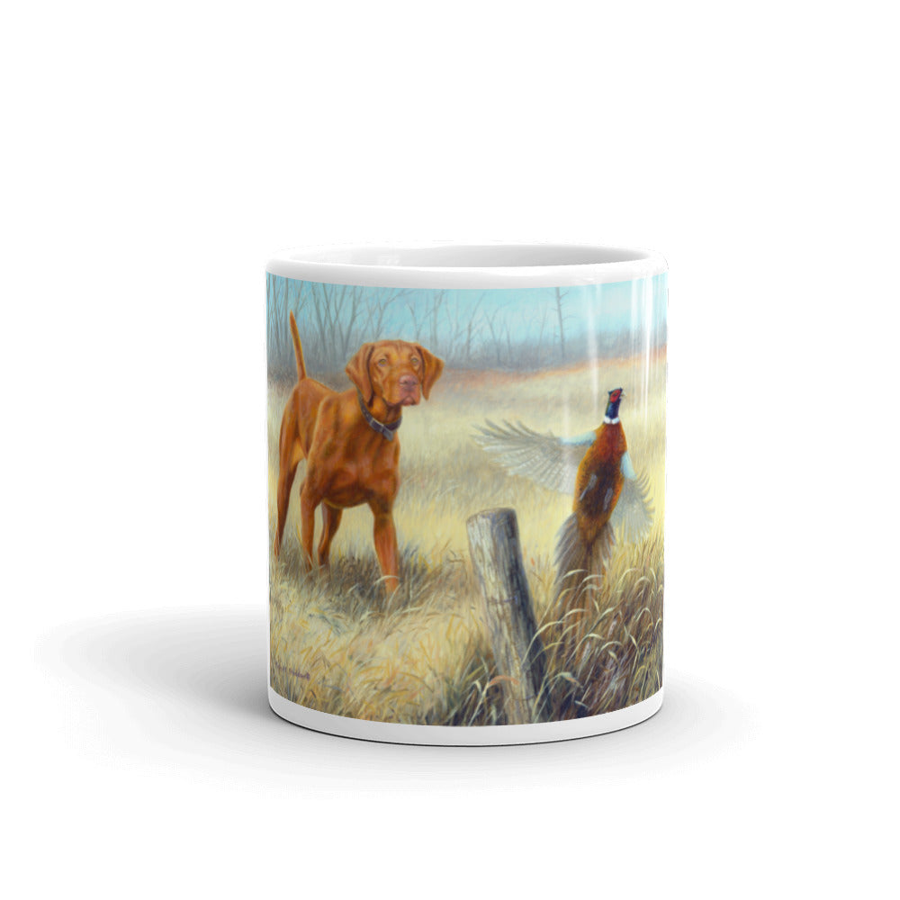 Old Fence Row, Vizsla 11oz Coffee Mug