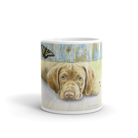 """Infatuation"" Chesapeake Bay Retriever 11oz Coffee Mug"
