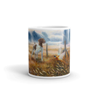 """Last Point of the Day"" German Shorthaired Pointer 11oz Coffee Mug"