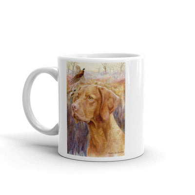 Vizsla Head Study Four 11oz Coffee Mug