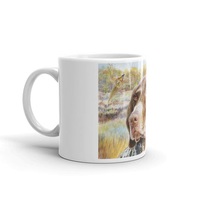 """GSP HS"" German Shorthaired Pointer 11oz Coffee Mug"