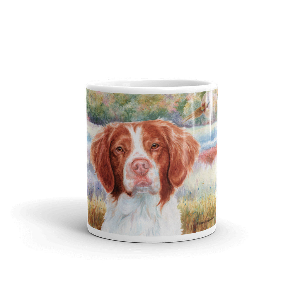 Brittany Head Study III, 11oz Coffee Mug