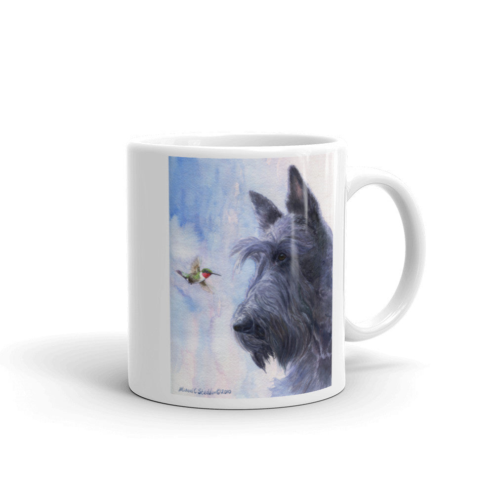 """My Turf"" Scottish Terrier 11oz Coffee Mug"