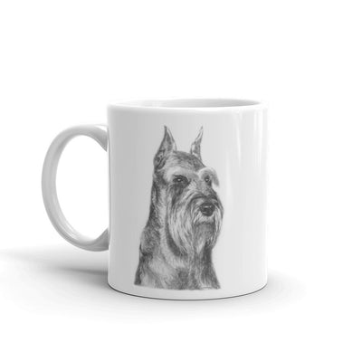 Schnauzer Pencil 11oz Coffee Mug