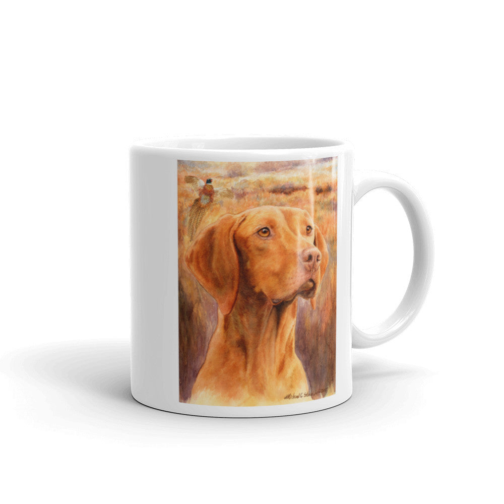 Vizsla Head Study Three 11oz Coffee Mug