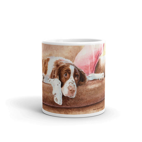 """Springer Rest"" Springer Spaniel 11oz Coffee Mug"