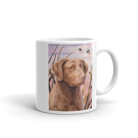 Chesapeake Bay Retriever Head Study III, 11oz Coffee Mug
