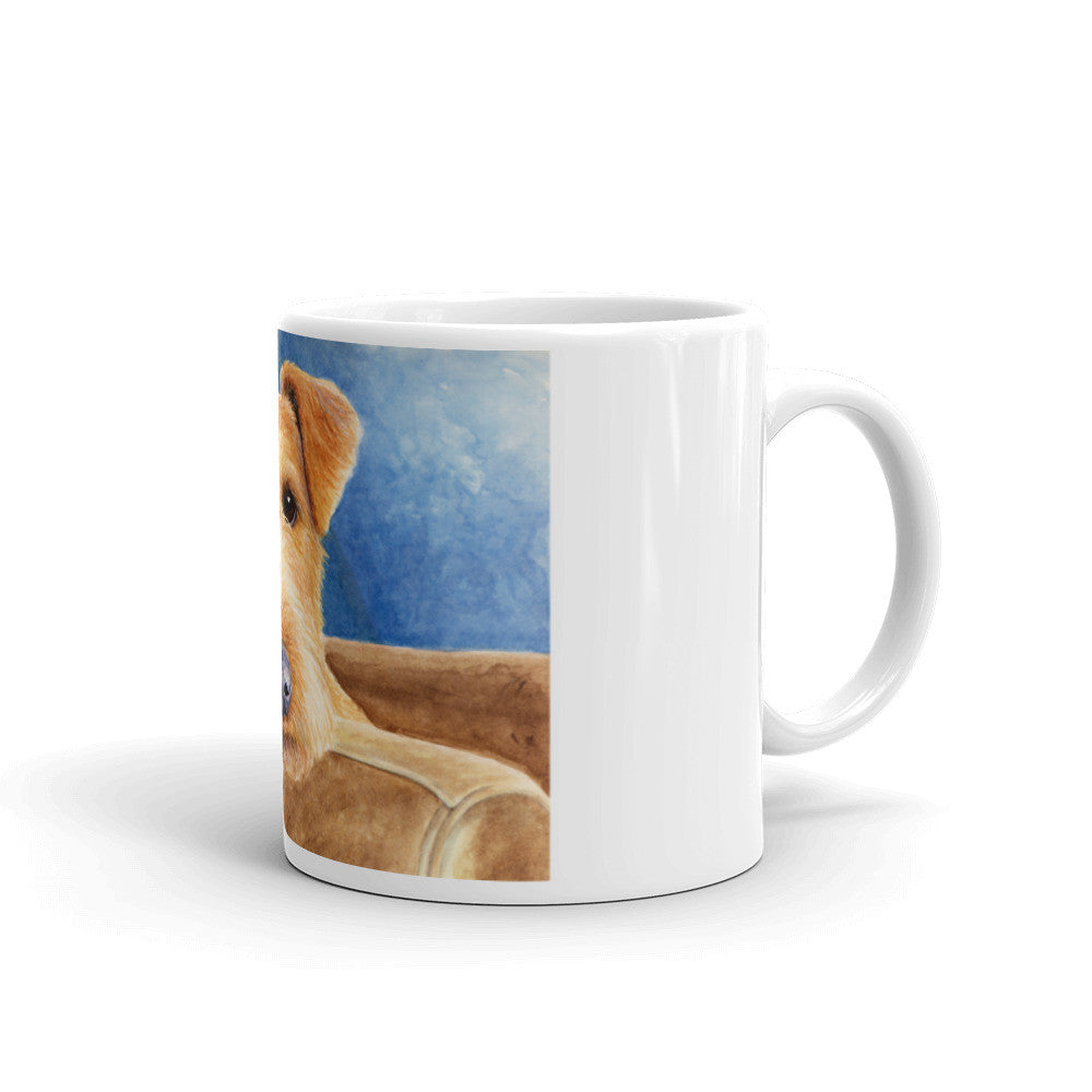 """Repose"" Irish Terrier 11oz Coffee Mug"