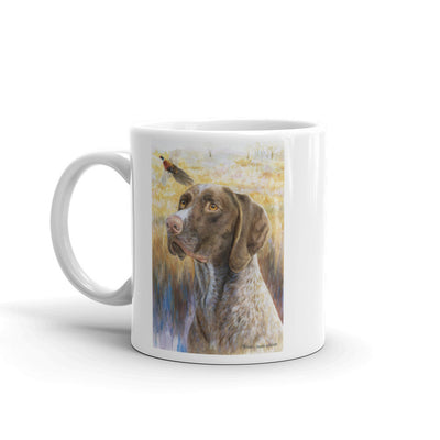 """GSP HSII"" German Shorthaired Pointer 11oz Coffee Mug"