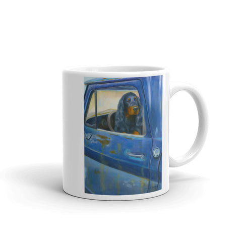 """Rusty's Blue"" 11oz Coffee Mug"