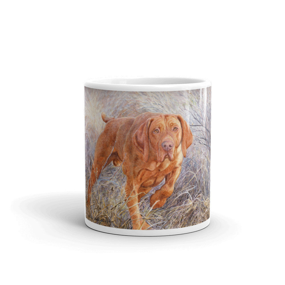 """Locked"" Vizsla 11oz Coffee Mug"