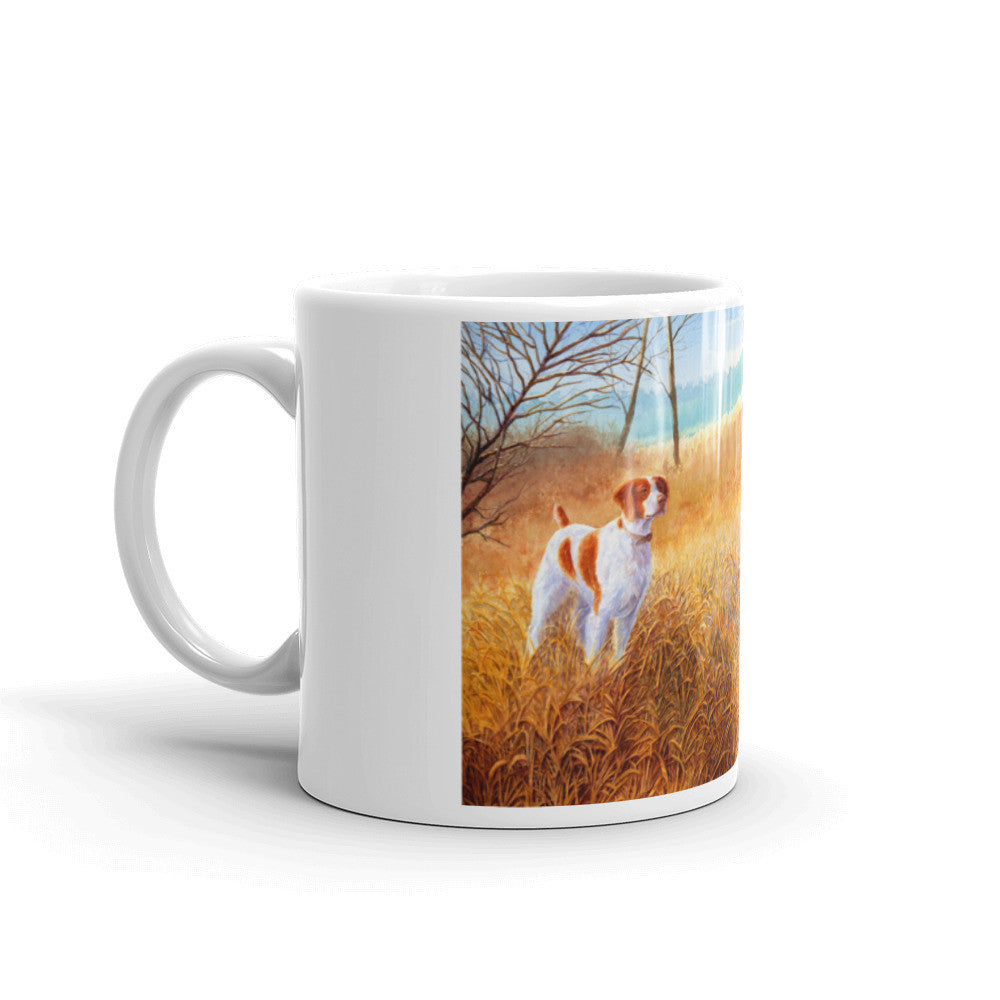 """Brittany Double"" Brittany 11oz Coffee Mug"