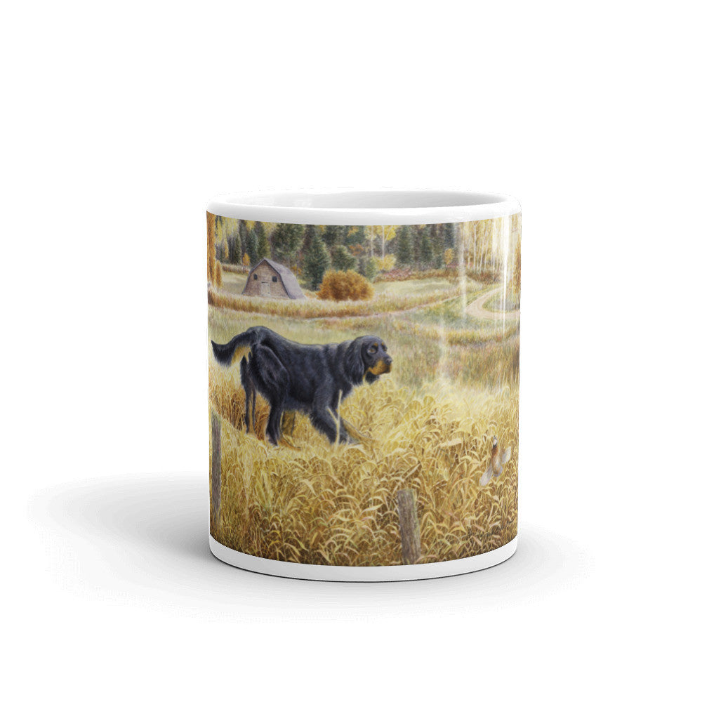 """Gordon & Quail"" Gordon Setter 11oz Coffee Mug"