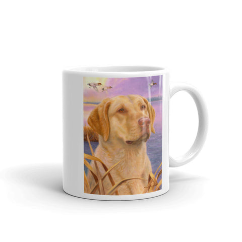 """Dawn Patrol"" Chesapeake Bay Retriever 11oz Coffee Mug"