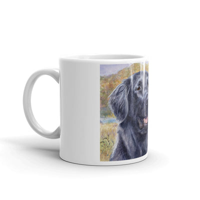 """FCR HSIV"" Flat Coated Retriever 11oz Coffee Mug"