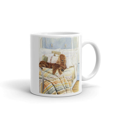 """Sleepin' In"" Irish Setter 11oz Coffee Mug"