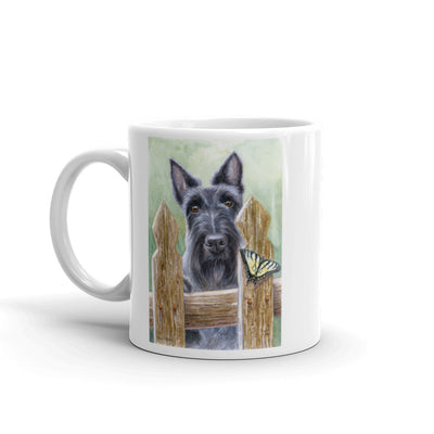 """The Chase"" Scottish Terrier 11oz Coffee Mug"